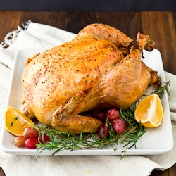 Salted Turkey with Citrus Herbs Recipe