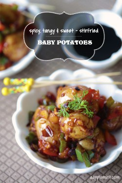 Savory Baby Potatoes Tapas Recipe