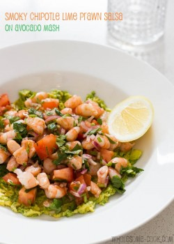 Smoky Chipotle Lime Prawn Salsa Recipe