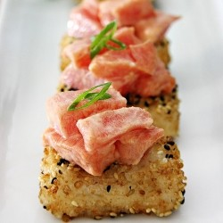 Spicy Tuna with Crispy Rice