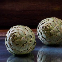 Steamed Artichokes with Curried Yogurt Dip Recipe