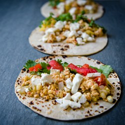 Summer Veggie Breakfast Tacos Recipe