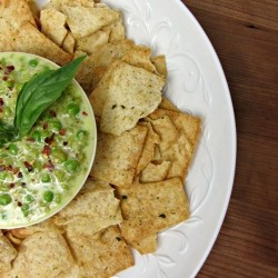 Sweet Pea and Mozzarella Dip Recipe