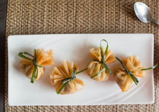 Thai Golden Bags Dumplings Recipe