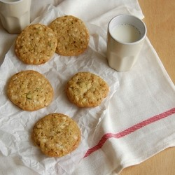 White Chocolate Pistachio Lemon Cookies Recipe