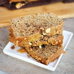 A healthier banana bread with hints of coffee …