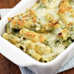 Baked Spinach Rigatoni
