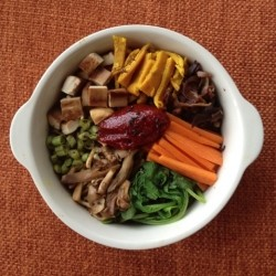 Bibimbap Grain Free Vegan Recipe