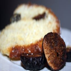 Black Mission Fig Cake