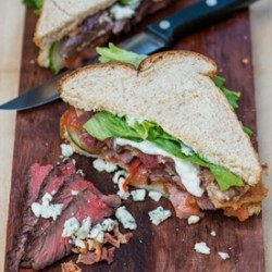 Blue Cheese Steak Sandwich Recipe