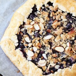 Blueberry Almond Streusel Galette Recipe