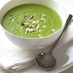 Broccoli Blue Cheese Soup
