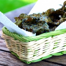 Cajun Spiced Kale Chips