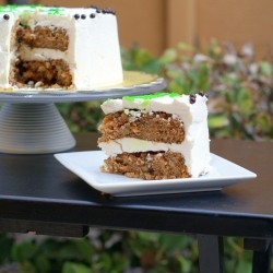 Carrot Cake with White Chocolate Buttercream Recipe