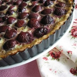 Cherry Custard Clafouti