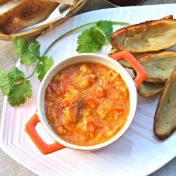Chili Dungeness Crabs Dip
