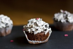 Chocolate Greek Yogurt Cupcakes