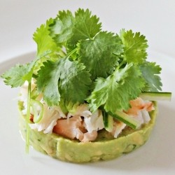 Crab and Avocado Appetizer Recipe
