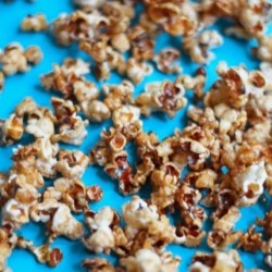 Healthy Caramel Apple Popcorn Recipe