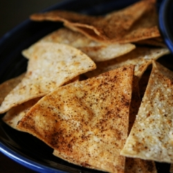 Home Baked Tortilla Chips