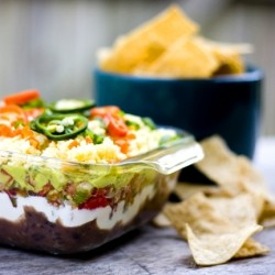 Homemade 7 Layer Dip