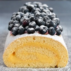 Meyer Lemon Mascarpone Cake Roll Recipe