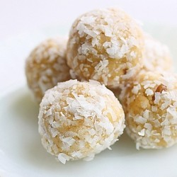 No Bake Coconut Orange Juice Cookies