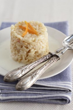 Orange Robiola Risotto
