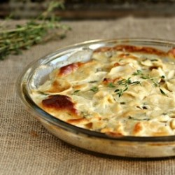 Parsnip and Thyme Gratin Recipe