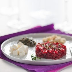Red Beetroot Tartare
