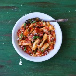 Rigatoni with San Marzano Sauce Recipe