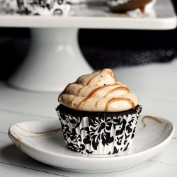 Salted Caramel Buttercream Perfect Chocolate Cupcakes