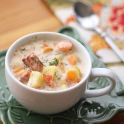 Smoked Salmon Chowder