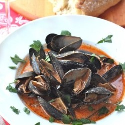 Spicy mussels Recipe