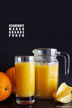 Starfruit Mango Orange Punch Recipe