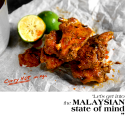 Thai Curry Chicken Wings Recipe