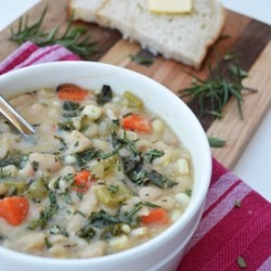 White Bean and Kale Soup Recipe
