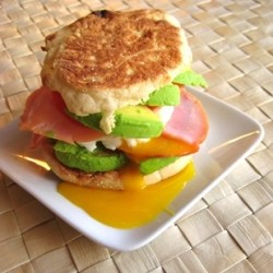 Avocado Bacon Breakfast Sandwich