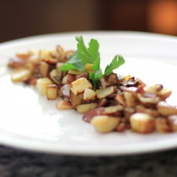 Bacon Hash with Onions Recipe