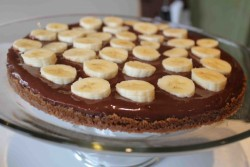 Banana Chocolate Pudding Torte