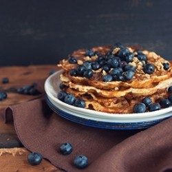 Blueberry Waffles Recipe