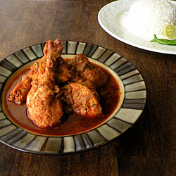 Chicken Curry with Fennel Seeds and Fenugreek Leaves Recipe