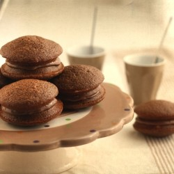 Chocolate Hazelnut Whoopie Pies