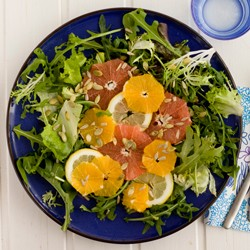 Detox Citrus and Greens Salad Recipe
