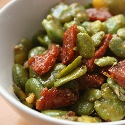 Fava Bean Chorizo Recipe