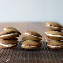 Ginger Kisses Sandwich Cookies Recipe
