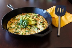 Healthy Egg White Fritatta with Vegetables Recipe