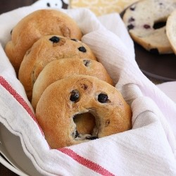 Homemade Blueberry Bagels Recipe