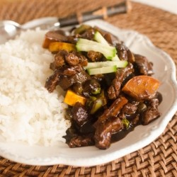 Jajang Bap Korean Chinese Black Curry Rice Recipe