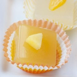 Mandarin and Mango Cosmo Jelly Shots